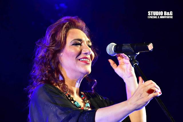 Ανεπανάληπτη η Ελένη Βιτάλη στη συναυλία του Εργατικού Κέντρου το Ναύπλιο (βίντεο)