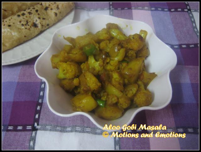 Aloo Gobi Masala / Restaurant Style Gobi Masala / Punjabi Style Aloo Gobi