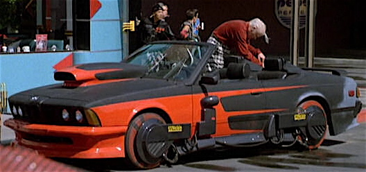 Image result for biff back to the future bmw