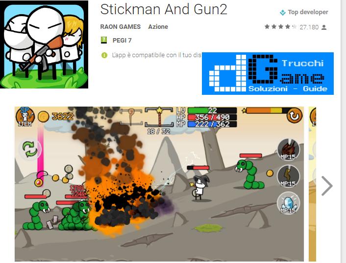 Trucchi Stickman And Gun2 Mod Apk Android v1.0.62