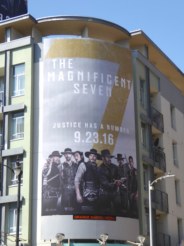 Magnificent Seven remake billboard