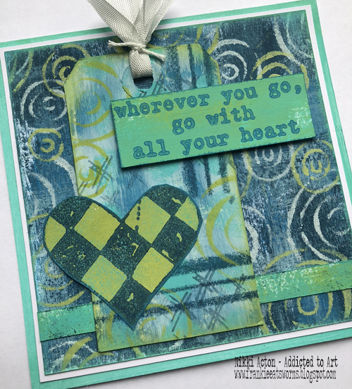New Sara Naumann PaperArtsy stamps - by Nikki Acton
