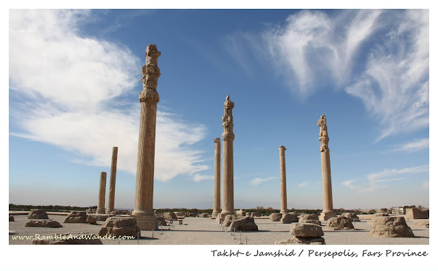 Iran: Top Things to Do and See in Shiraz - Persepolis - Ramble and Wander