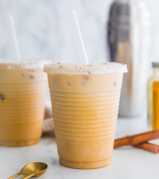 Iced Golden Milk Turmeric Latte #icemilk #delicious