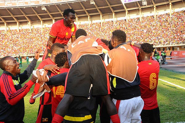Celebrations as Uganda qualifies for 2017 AFCON, first time in 38 years