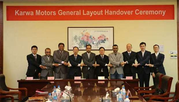 Karwa Motors received layout and process design for bus plant in Duqm