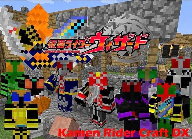 Kamen Rider Craft DX Mod New Kamen Rider Craft DX Mod for Minecraft 1.6.4 and 1.7.2