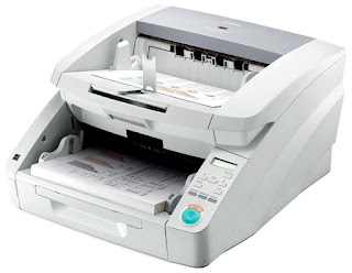 scanner pertaining to converting higher volumes of newspaper inwards gild to digital Canon imageFormula DR-G1100 Driver, Review, Price