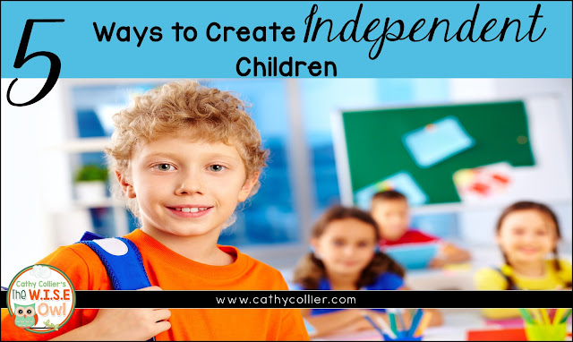 Home/School Connection: Creating Independent Children. The goal of both parents and teachers should be to create independent learners and citizens. Here are 5 ideas.