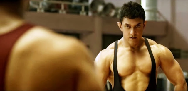 Aamir Khan, Dangal. Wrestling training video, youtube