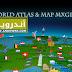 تطبيق World atlas & map MxGeo مدفوع للأندرويد