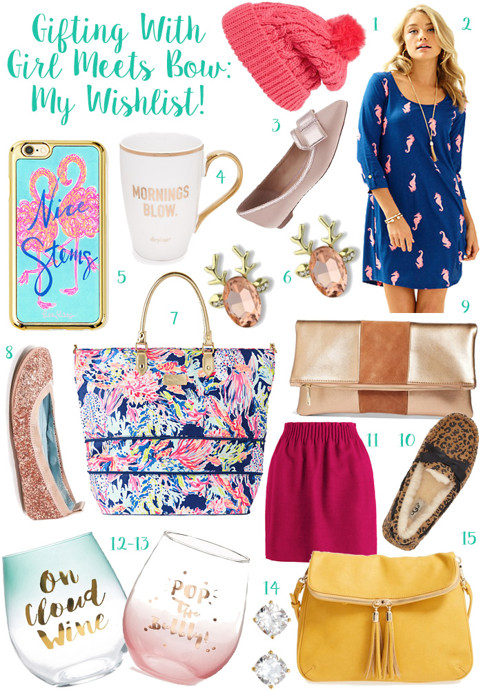 Gifting with Girl Meets Bow: My Wishlist! + This and That