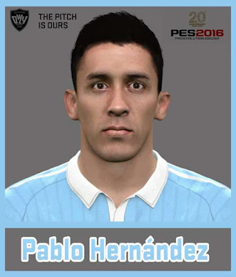 PES 2016 Hernández Face 2016