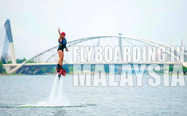 Malaysia Flyboarding