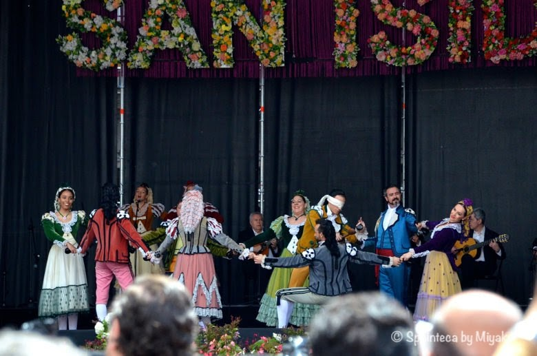 Fiestas de San Isidro en Madrid マドリードのサン·イシドロ祭りのゴヤのダンス