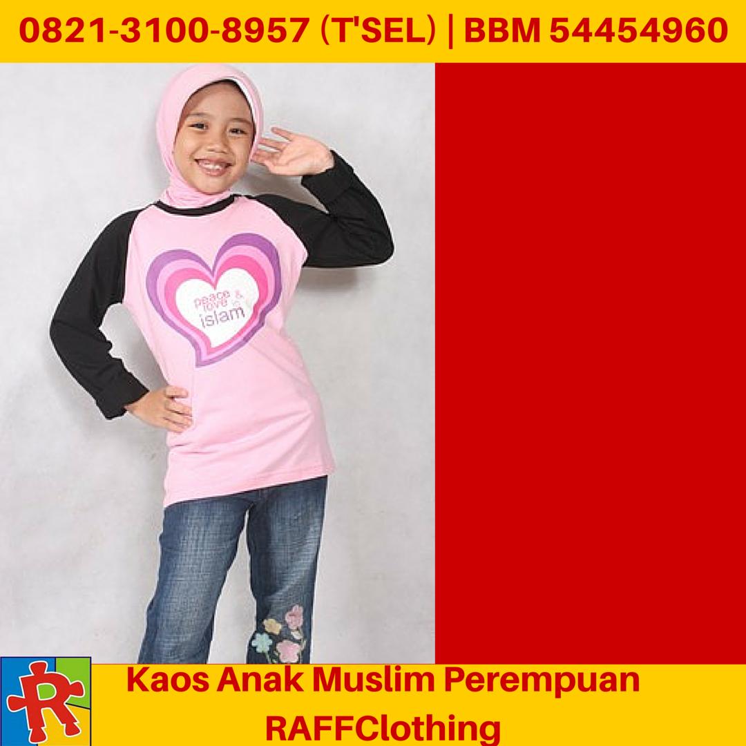 Kaos Anak Muslim Kaos Muslim Anak Kaos Anak Muslim Perempuan