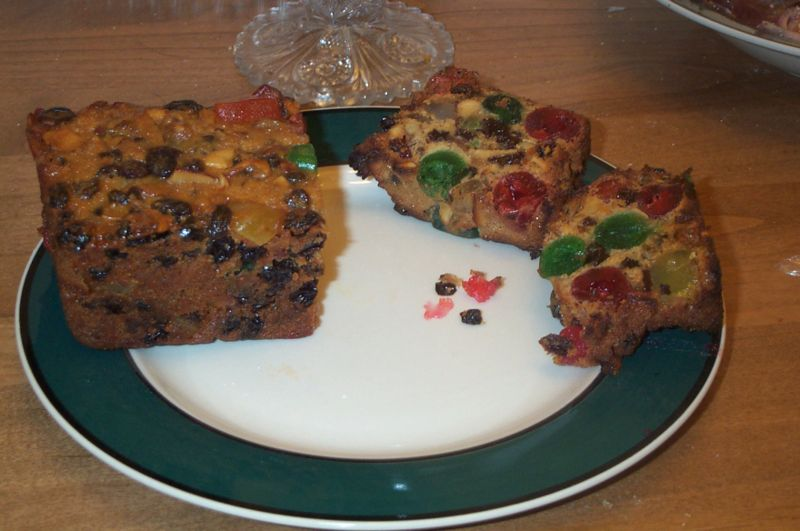 Traditional American Fruitcake What Pray Tell Is The Bright Green Stuff Photo Wikipedia