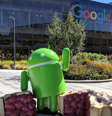 Android 9 Pie Statue Revealed At Google