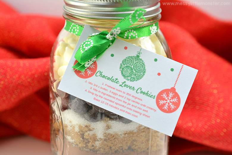 Mason Jar Gifts Christmas Cookie Jar For Chocolate Lovers Messy