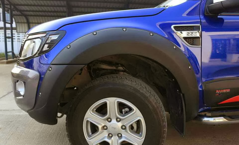 Second Gen Fender Flares Looking To The Ranger Ford Escape
