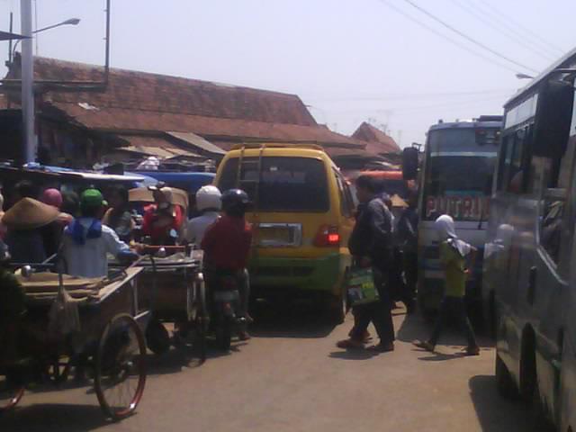 Pasar Kembang Gede Kota Batang