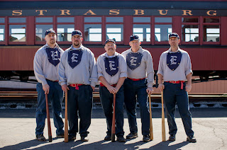 Vintage Baseball on 的 Strasburg Rail Road