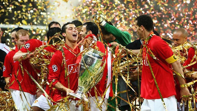 Top 10 Clubs with most Champions League Titles - Manchester United