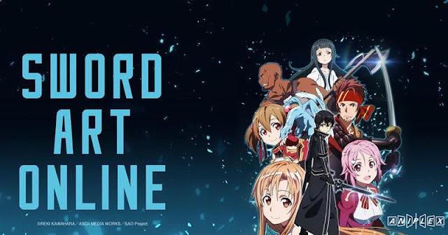 Sword Art Online - Top Anime Like Konosuba (Kono Subarashii Sekai Ni Shukufuku Wo)