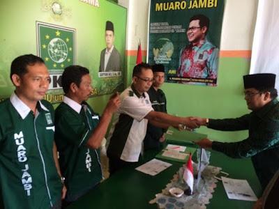 Makin Serius Menuju Muaro Jambi 1, Ivan Mendaftar di PKB