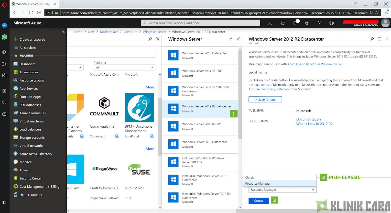 Cara Membuat Windows Server di Microsoft Azure