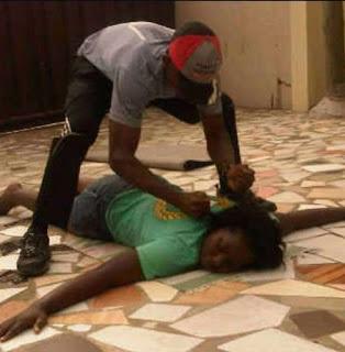 man beat wife