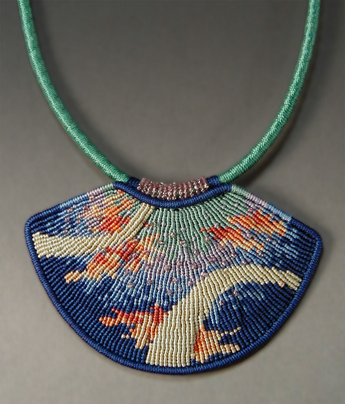 Wired Micro Macrame Jewelry Designs by Joan Babcock ~ The Beading Gem
