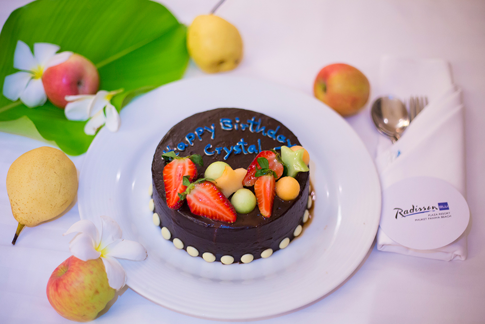 Birthday celebration at Radisson Blu Plaza Phuket Resort