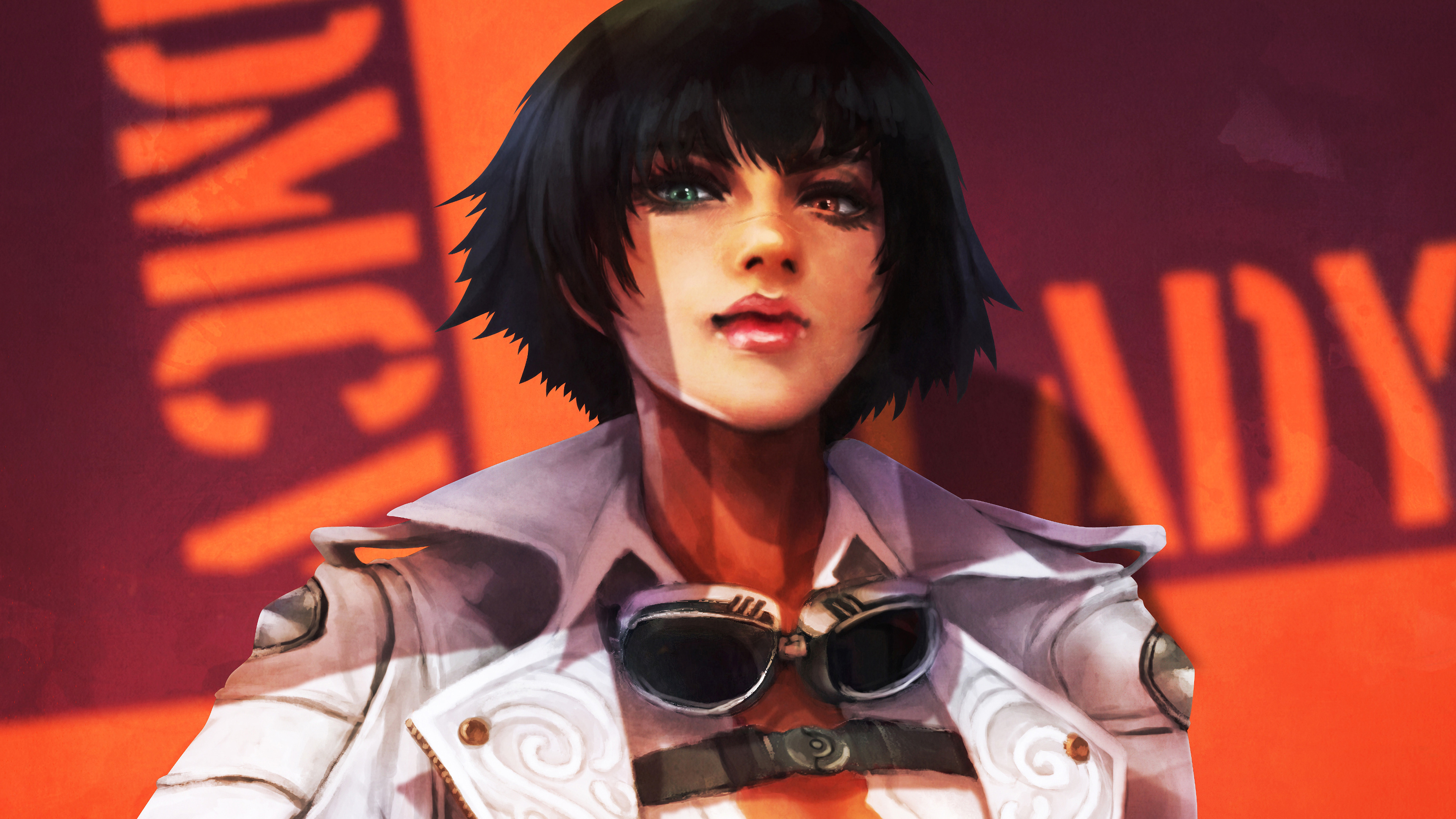 Lady Devil May Cry 5 4k Wallpaper 108