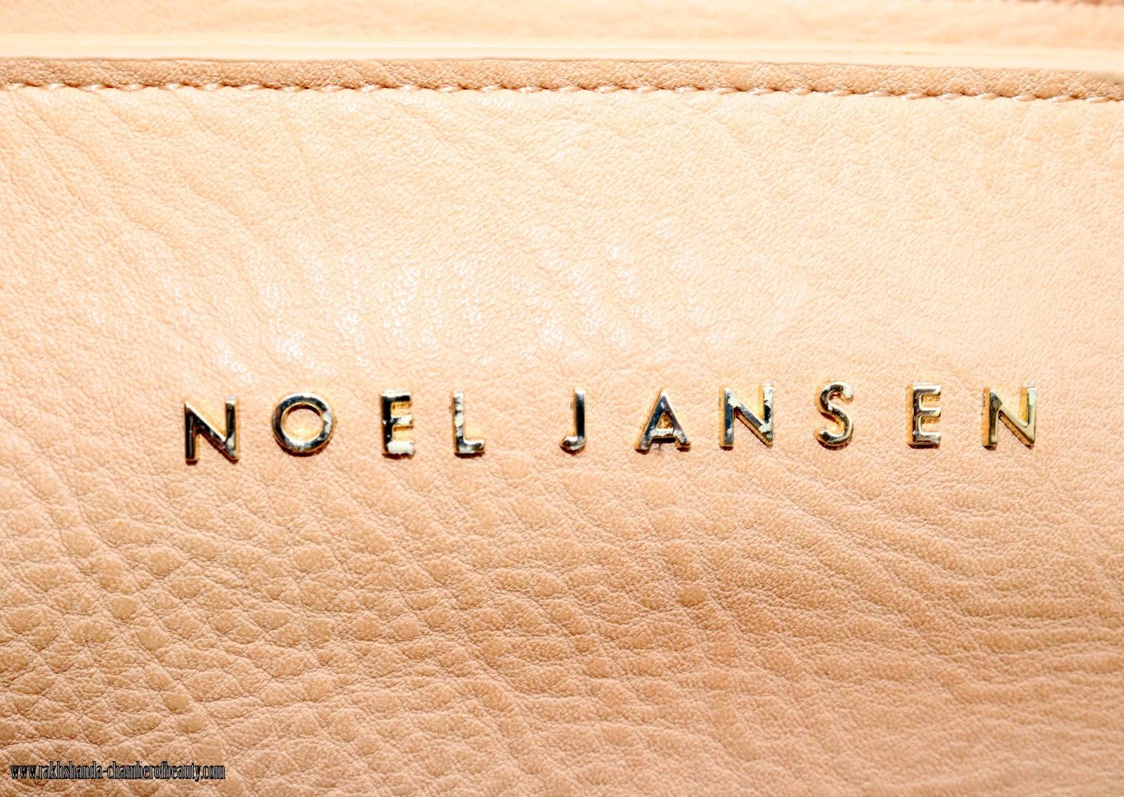 Indian fashion blogger, new in, Noel Jansen, Noel Jansen bags, Noel Jansen Metallic Holly Tote,