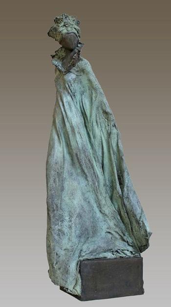 "Kieta Nuij - ""Iris"" | imagenes de obras de arte contemporaneo tristes, esculturas bellas chidas | figurative art, sculptures | kunst"