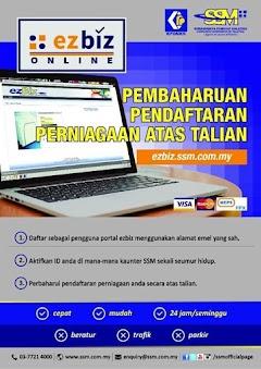 Cara Memperbaharui Pendaftaran Perniagaan Secara Online