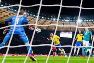 Brasil vence Alemanha em amistoso no Estádio Olímpico de Berlim