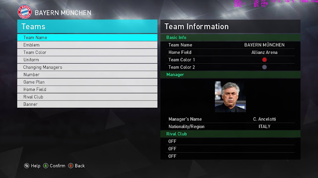 Option File PES 2018 V6 dari InMortal