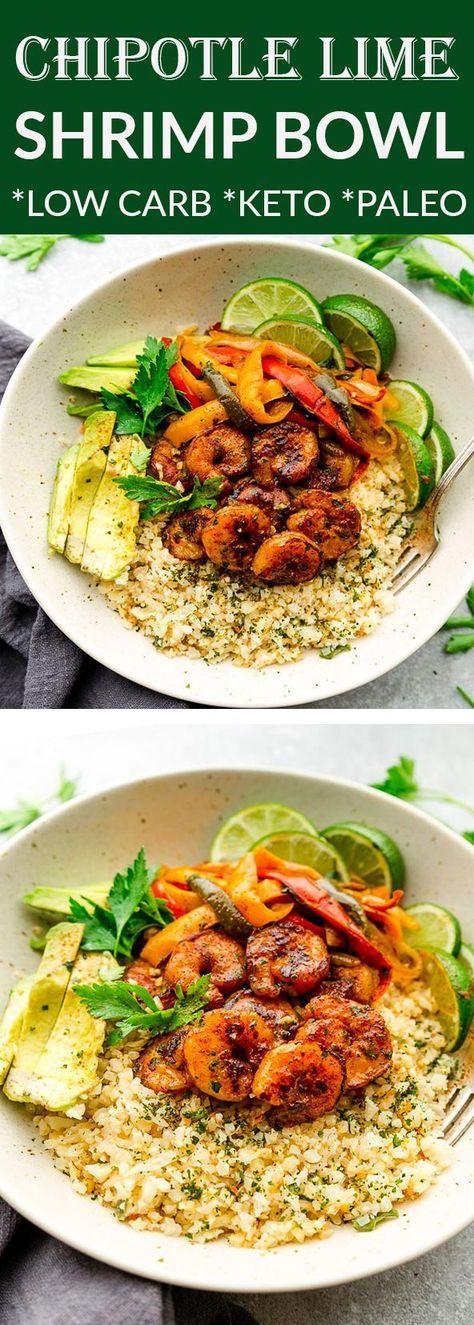 Chipotle Lime Shrimp Bowls