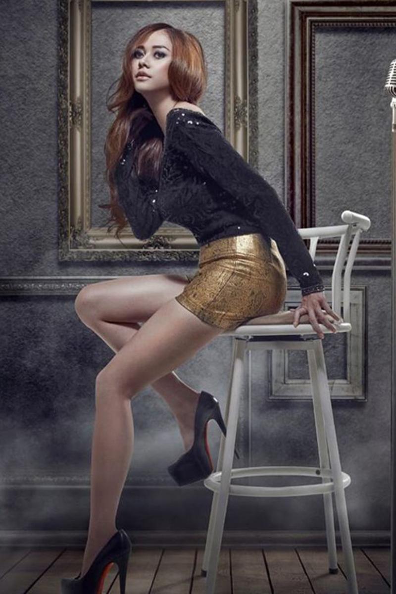 rok mini aura kasih profil fotografi manis