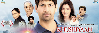 Poster Of Khushiyaan (2011) In 300MB Compressed Size PC Movie Free Download At worldfree4u.com