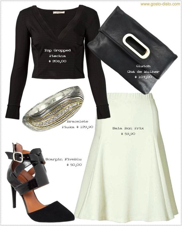 Como usar saia midi branca como uma fashionista