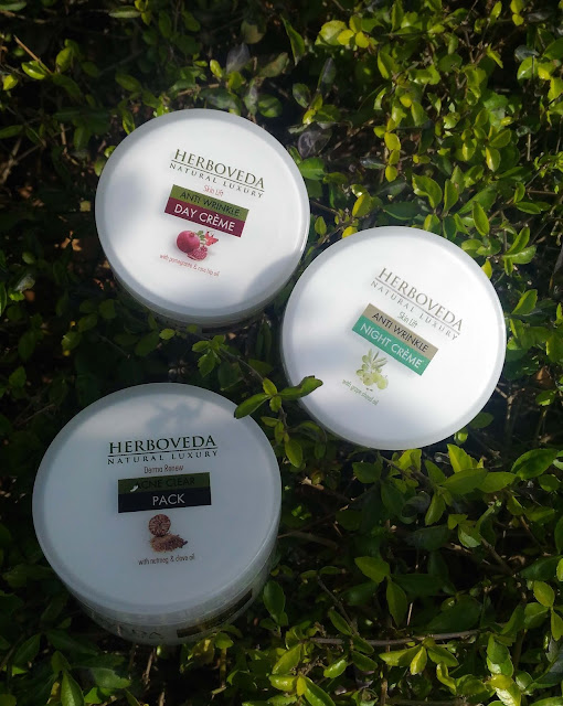 Herboveda Anti Wrinkle Face Crème, Face Pack Review