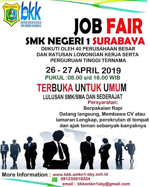 Job Fair BKK SMK Negeri 1 Surabaya