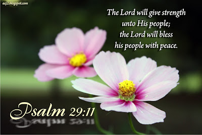 the lord will bless his people with peace