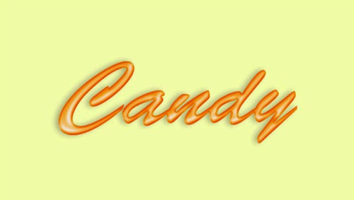 Create Orange Candy Text Effect In Photoshop