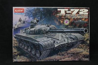Montage d'un char T-72 d'Academy au 1/48.