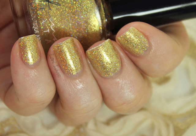 Femme Fatale Cosmetics Grandfather of the Desert nail polish swatches & review