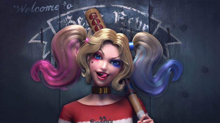 Harley Quinn, DC, 4K, #6.406